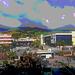 20160327 100047Hw [I] Blick vom Hotel, Raum Messina, Sizilien