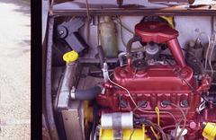 Mini Countryman Engine bay