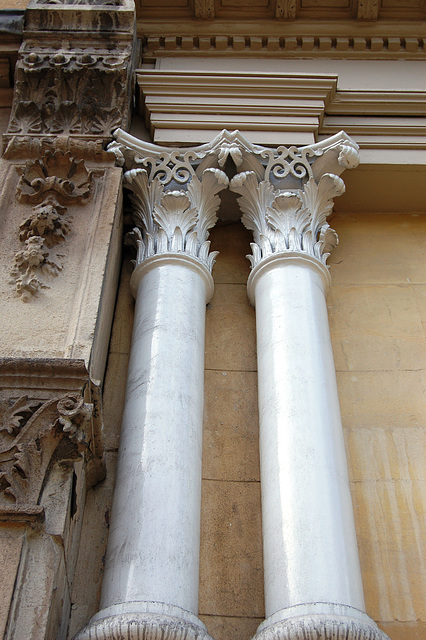 Cast Iron Pilasters, Colemore Row, Birmingham