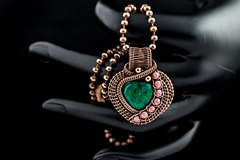 Green Heart Pendant (Explored)