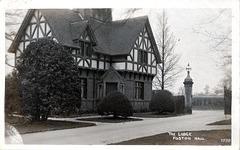 The Lodge, Foston Hall, Derbyshire c1900