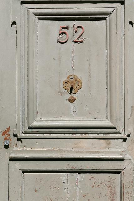 La porte du 52
