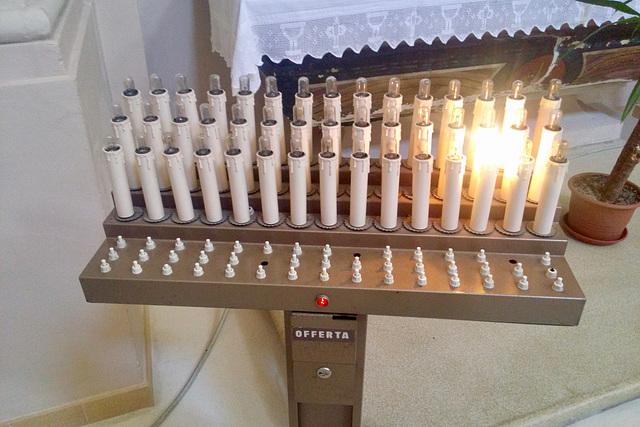 Monbaroccio 2017 – Electric candle