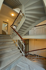 Treppenaufgang im Henneberg-Haus (PiP)