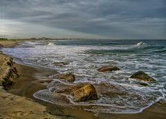 charlestown beach-rocks