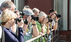 Kokerei Zollverein - so sieht's aus, wenn man mit Fotofreunden unterwegs ist ... (© Buelipix)