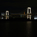 Japan, Tokyo, Rainbow Bridge at Night