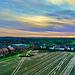 Sunset looking towards Shropshire