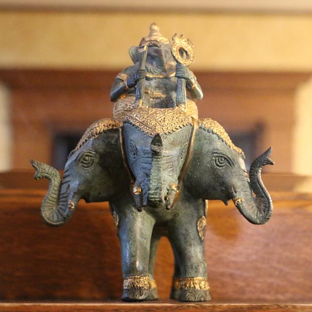 Erawan, the three-headed elephant.