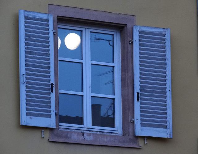window to the moon