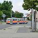 Leipzig 2019 – Driving school tram at the Knautkleeberg terminus