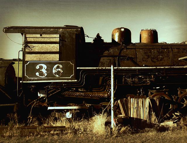 Steam locomotive 36