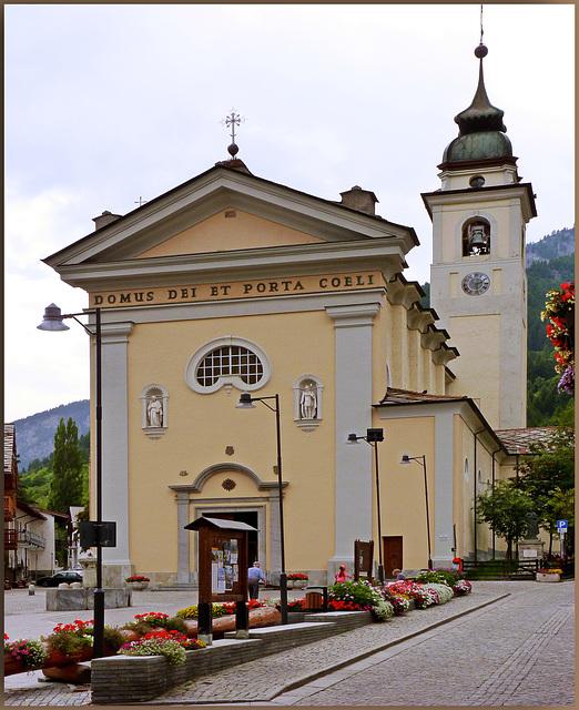 Bardonecchia : la Parrocchia di san Ippolito - (792)