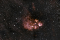Cats Paw Nebula NGC 6334