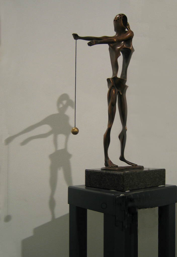 Homage to Newton (Salvador Dali) in Parish