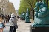 20 chats sur les Champs-Elysées