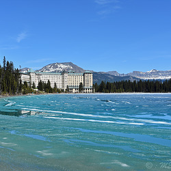 Lake Louise, Fairmont Hotel