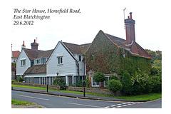 The Star House East Blatchington 29 6 2012