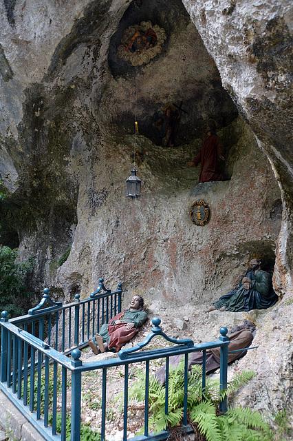 Die Magdalenengrotte bei der Einsiedelei Sankt Verena