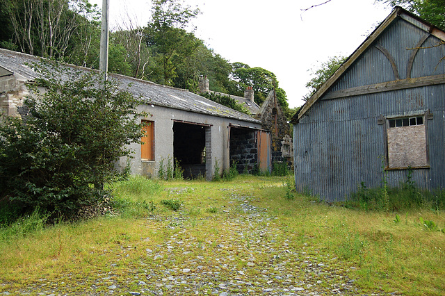 Abandoned School, Folla Rule, Aberdeenshire