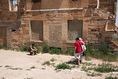 Posing in Ruins