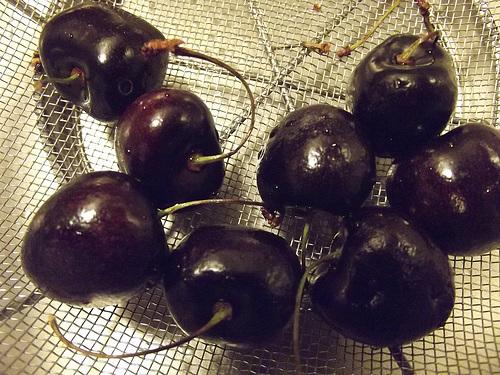 Last cherries