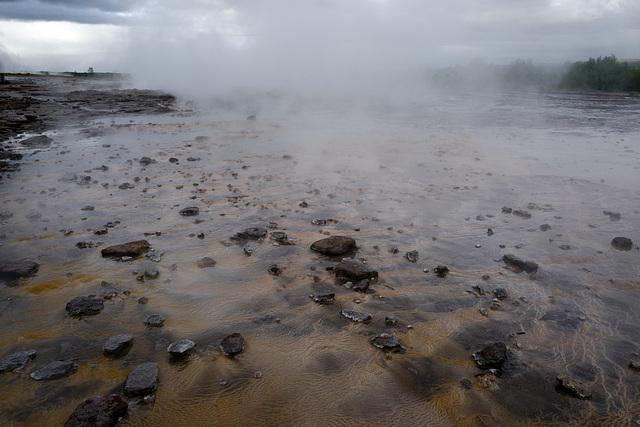 Geysir, Strokkur, water