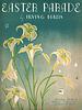 """""""Easter Parade"""" Sheet Music, 1933"""