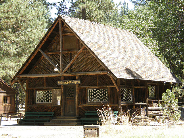 Stagecoach Stop at Yosemite