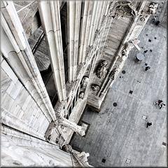 Milano – vista dal tetto del Duomo
