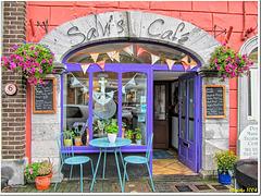 """""""Salvi's Café"""" in the center of Kinsale..."""
