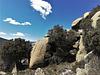 Typical Sierra de La Cabrera granite scenery