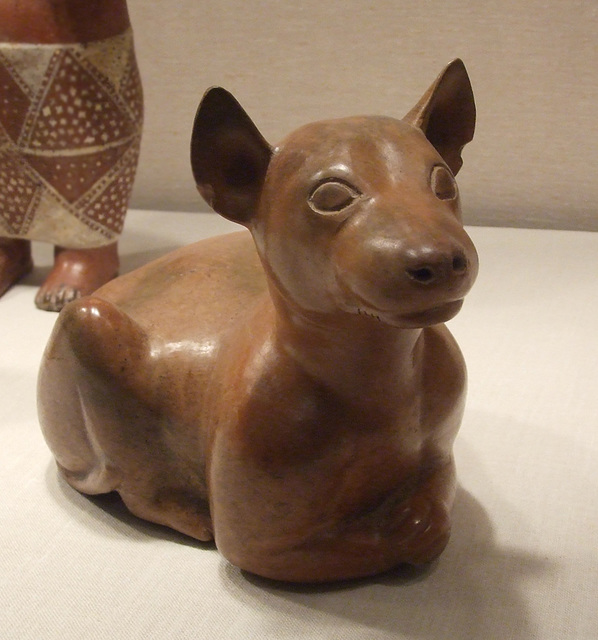 Ancient Mexican Reclining Dog in the Metropolitan Museum of Art, February 2012