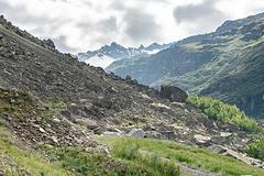 Clapier de Fodan et Vallée de l'Arc entre La Tralenta et le hameau de L'Écot