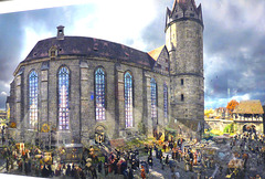 Panorama - Luther in Wittenberg 1517