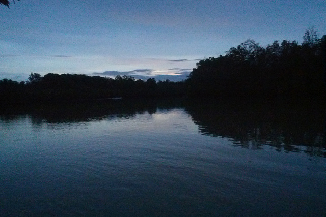 Dusk at the Abatan River