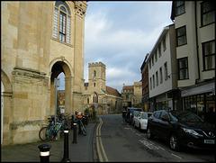 county hall and church