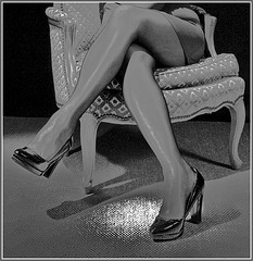 ... la bergère a de jolies jambes...!
