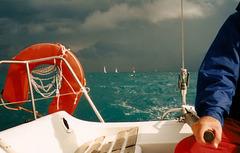 Rot&Blau im Ionischen Meer - Red&Blue