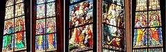 Collage Glasfenster. ©UdoSm