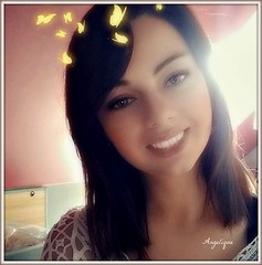 Ma superbe Nièce adorée elle est belle n'est ce pas ?une adorable poupée ♥que j'aime