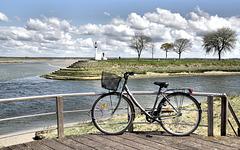 A byciclette à Saint Valéry sur Somme !