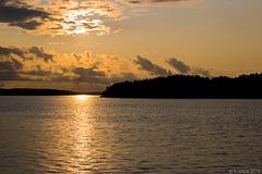 Sonnenuntergang bei Naantali (© Buelipix)