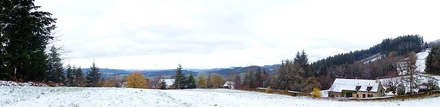 Un peu de neige ce matin pour mon anniversaire... [ON EXPLORE]