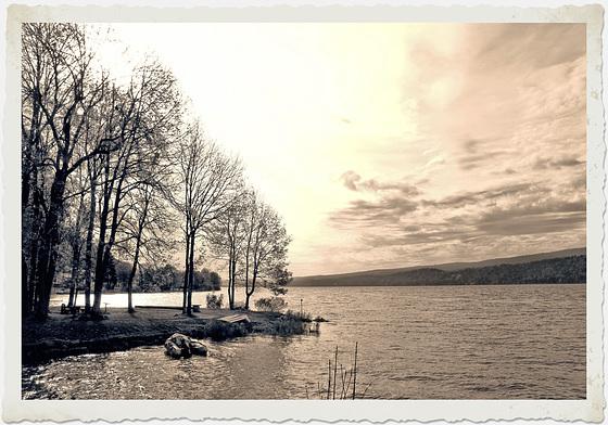 Lac de Joux (CH) 20 octobre 2014.