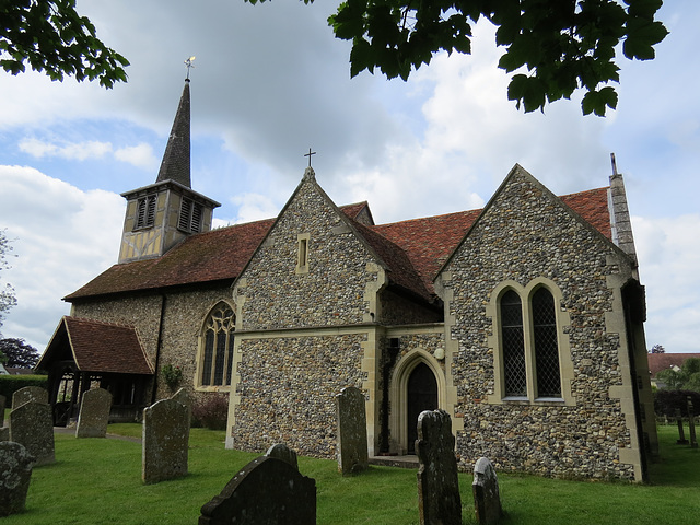little hallingbury church, essex
