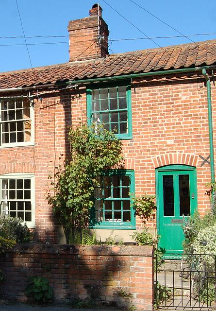 Village Street From Churchyard Gate, Wenhaston, Suffolk