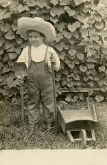 Little Farmer Boy with Wheelbarrow, Lancaster, Pa.