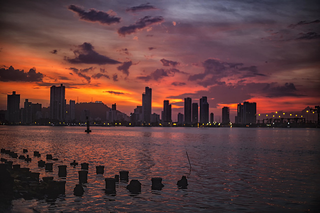 Colours before sunrise