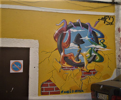 Mural painting, by Nar.